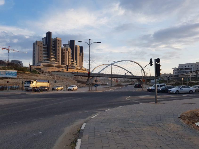 כביש 3 לכיוון תל אביב (צילום: דוברות עיריית מודיעין מכבים רעות)