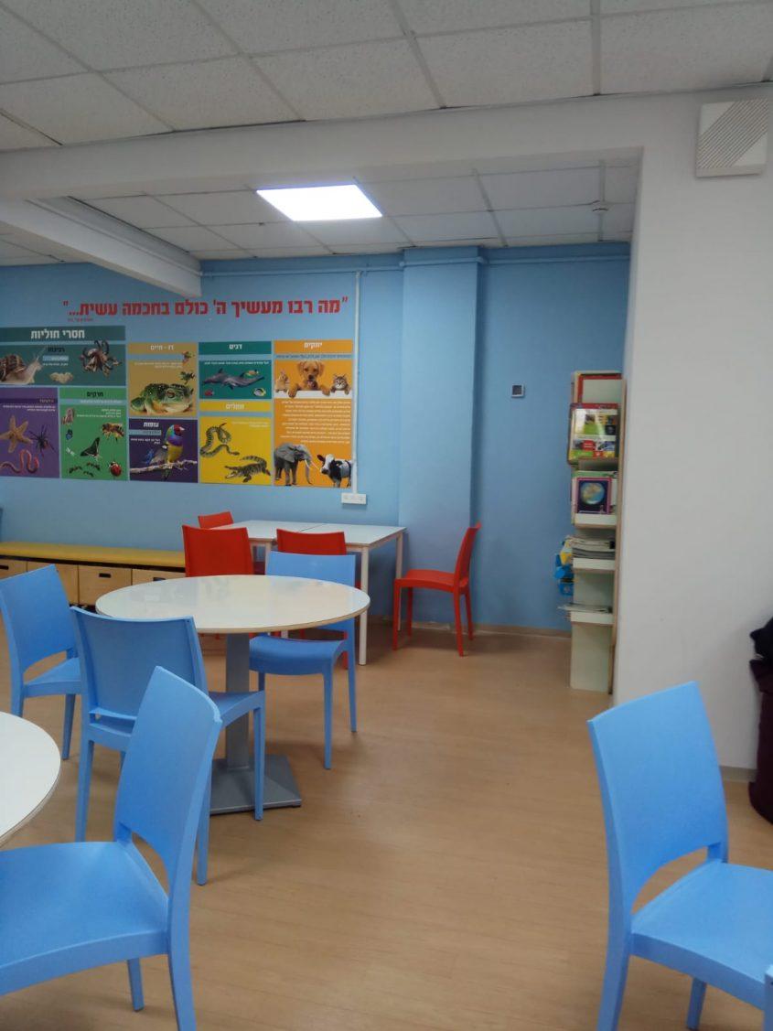 מרחב לימוד מדעים בנתיב זבולון (צילום: דוברות עיריית מודיעין מכבים רעות)