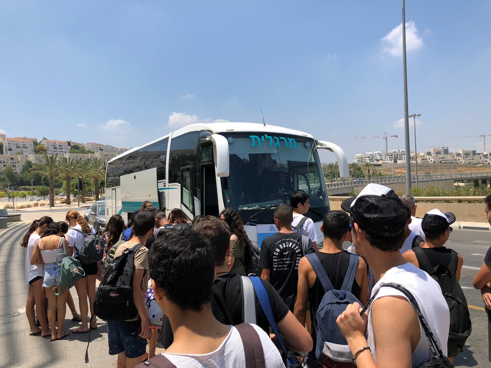 ימבוס - אוטובוס השבת במודיעין (צילום: דוברות עיריית מודיעין מכבים רעות)