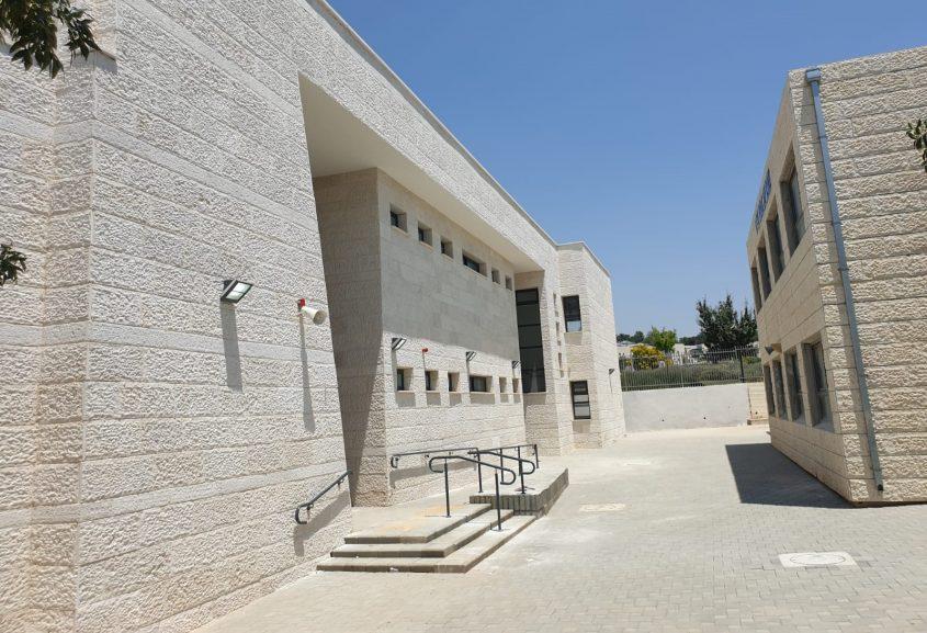 המבנה החדש בבית הספר אריאל (צילום: דוברות עיריית מודיעין מכבים רעות)