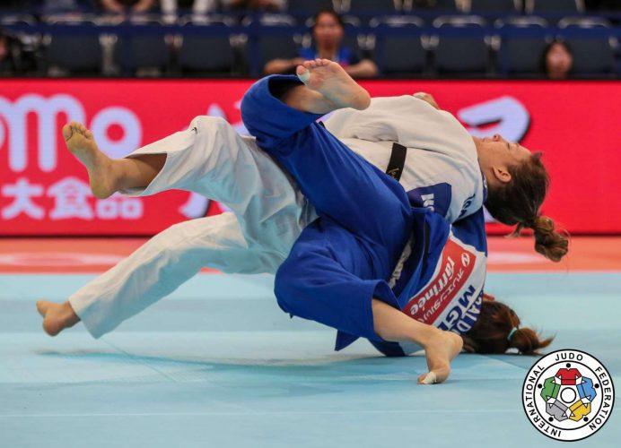 גילי שריר, באליפות העולם (צילום: באדיבות איגוד הג'ודו העולמי)
