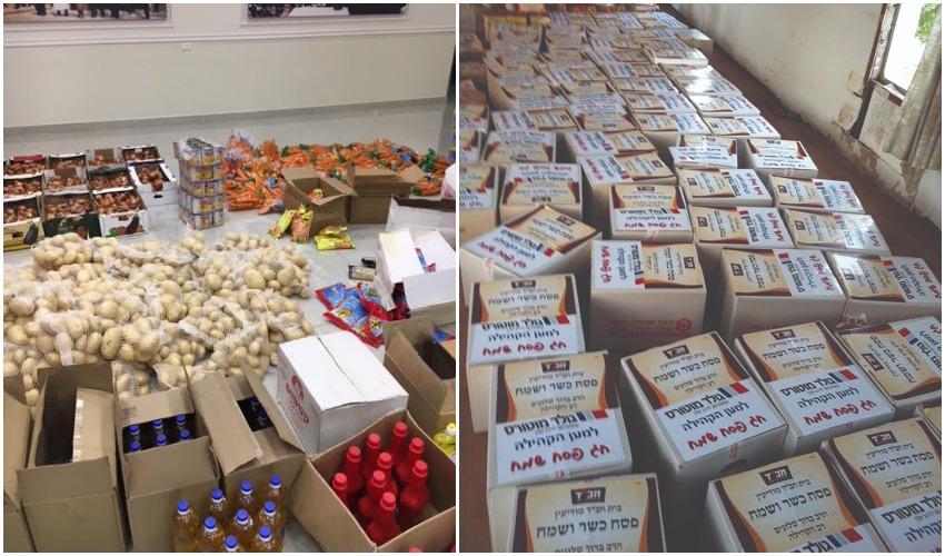 לקראת החגים: עמותות החסד במודיעין במבצע איסוף מזון לנזקקים