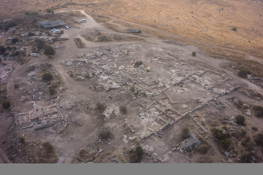 מתחם הפארק הארכיאולוגי - חורבת אשון (הדמיה: גיא פיטוסי)