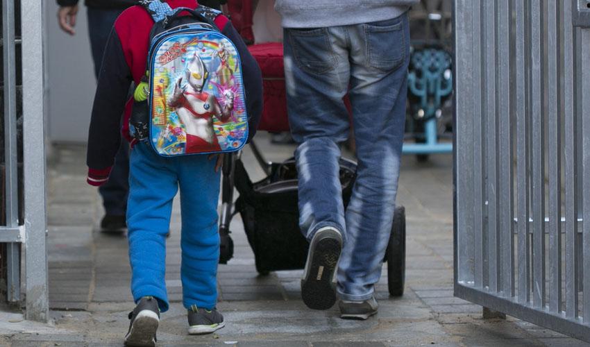 גן ילדים לילדי מבקשי מקלט בתל אביב (צילום: דודו בכר)