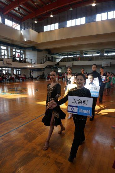 אלון וליאה בתחרות בטייוואן (צילום: אלה ג'ייקוב)