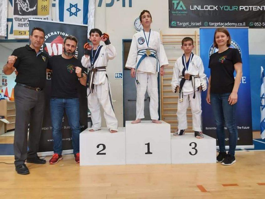 אליפות ישראל בג'ו ג'וטסו (צילום: דוברות עיריית מודיעין מכבים רעות)