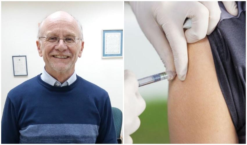 """חיסון, ד""""ר מיכאל קאופמן (צילומים: א.ס.א.פ קריאייטיב/INGIMAGE, פרטי)"""