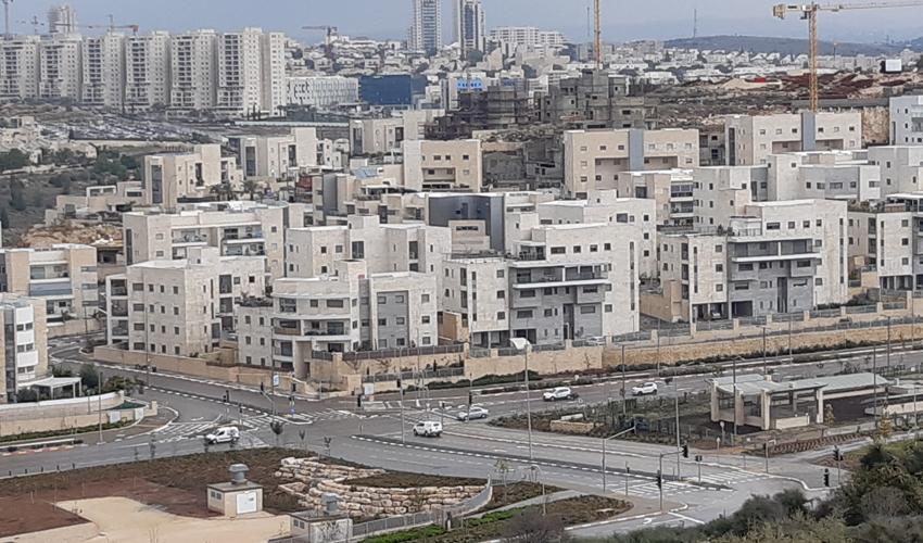צומת שלדג-רבין, שכונת הציפורים (צילום: דוברות עיריית מודיעין מכבים רעות)