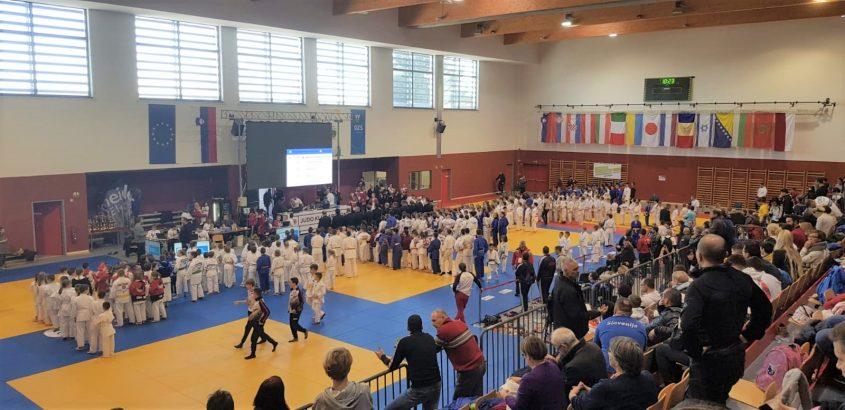תחרות הג'ודו בסלובניה (צילום: דוברות עיריית מודיעין מכבים רעות)