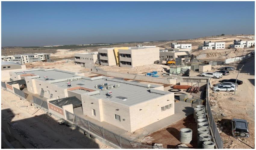 """בית ספר """"חופים"""" - ממלכתי, בשכונת נופים (צילום: דוברות עיריית מודיעין)"""