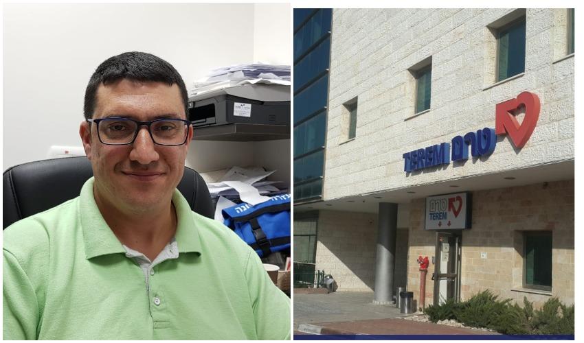 טרם רפואה דחופה, מוקד מודיעין,חביב גבאי, מנהל טרם מודיעין (צילום יחצ, פרטי)