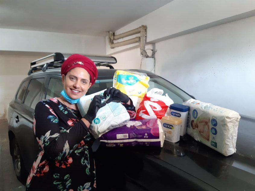 סיוע ארגוני המתנדבים משבר הקורונה (צילום: דוברות עיריית מודיעין-מכבים-רעות)