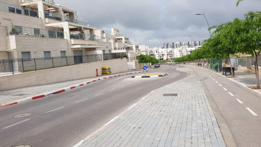 שכונת הציפורים - רחוב דוכיפת (צילום: דוברות עיריית מודיעין מכבים רעות)
