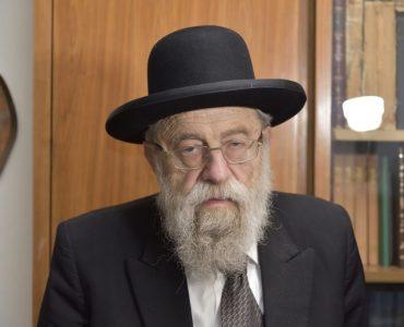 הרב אריה שטרן (צילום: אירה ביג'ל)