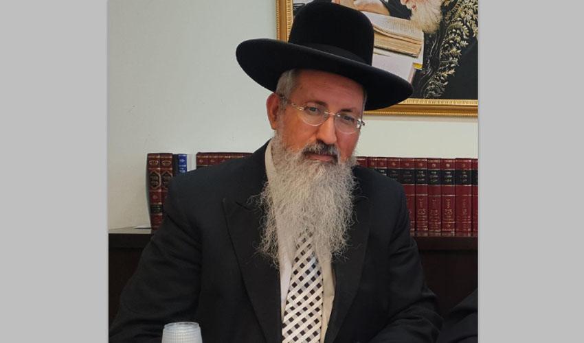 הרב אליהו אלחרר (צילום: אוריאל גרשון)