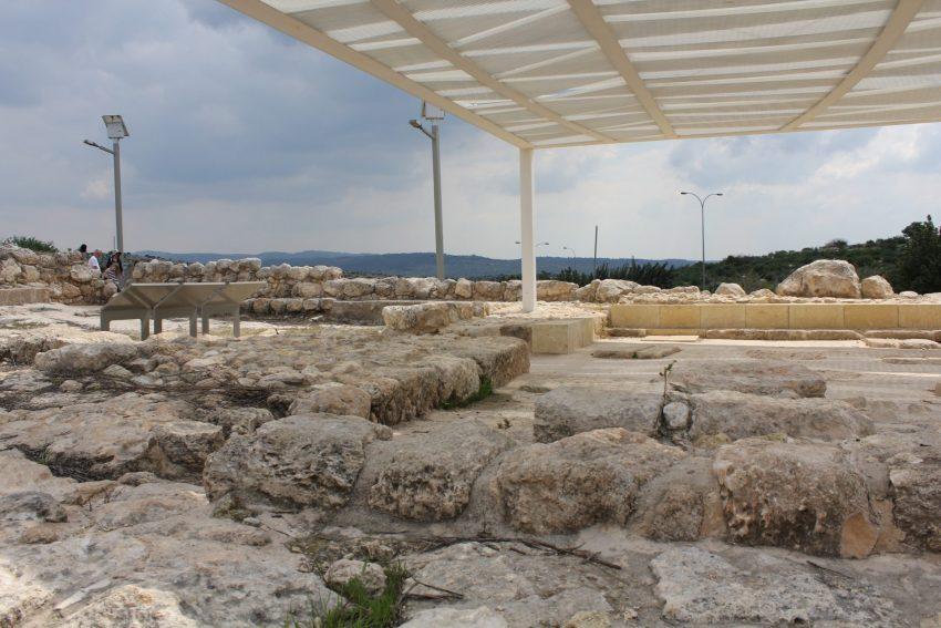 בית הכנסת החשמונאי העתיק (צילום: דוברות עיריית מודיעין מכבים רעות)