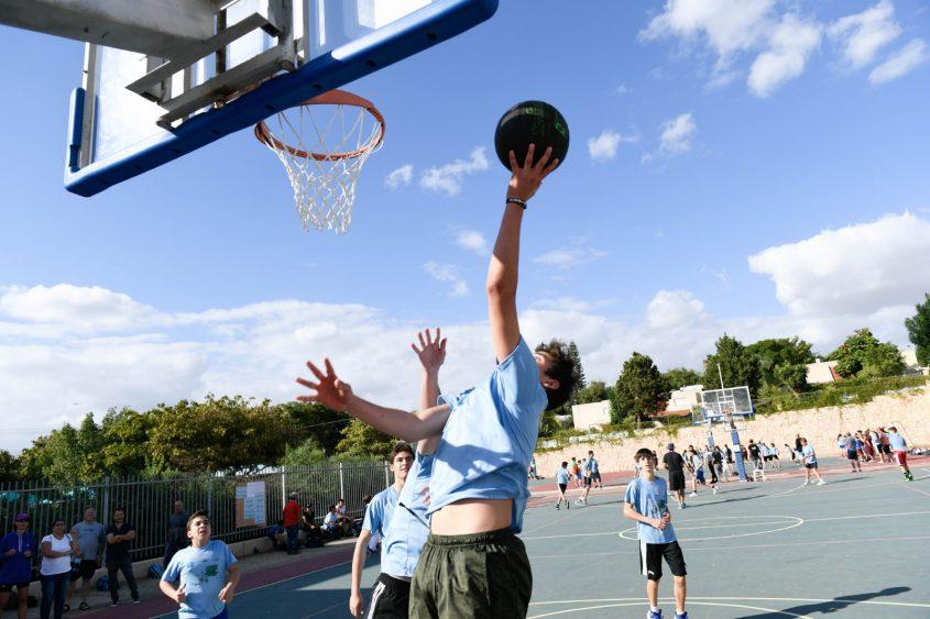 חוג כדורסל - סחלבים (צילום: דוברות עיריית מודיעין מכבים רעות)