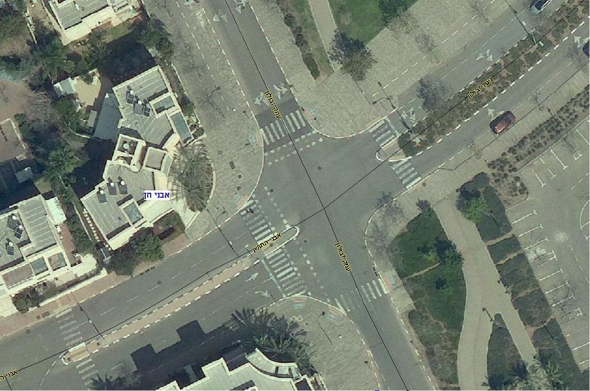 צומת עמק זבולון-אבני החושן (צילום: דוברות עיריית מודיעין מכבים רעות)