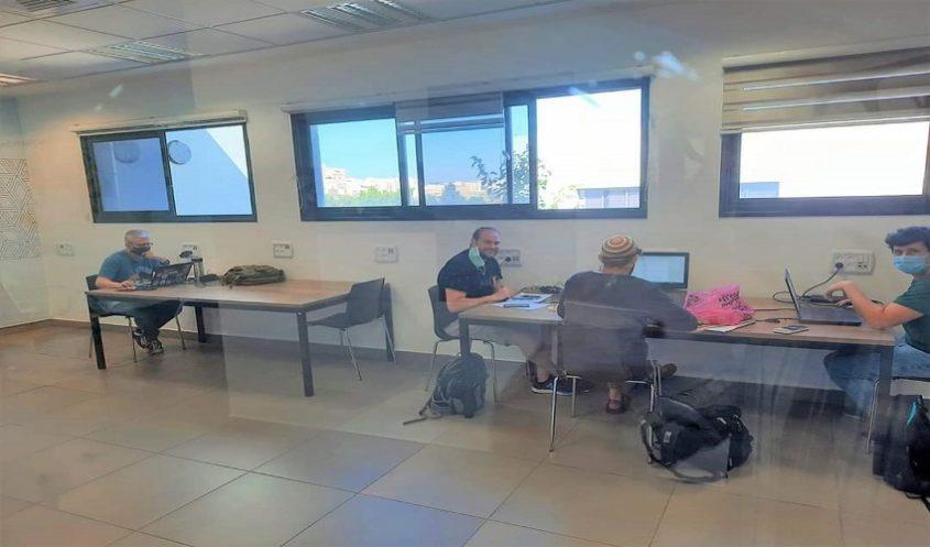 """מרחבי למידה לסטודנטים במרכז הצעירים """"יודה"""" (צילום: דוברות עיריית מודיעין מכבים רעות)"""