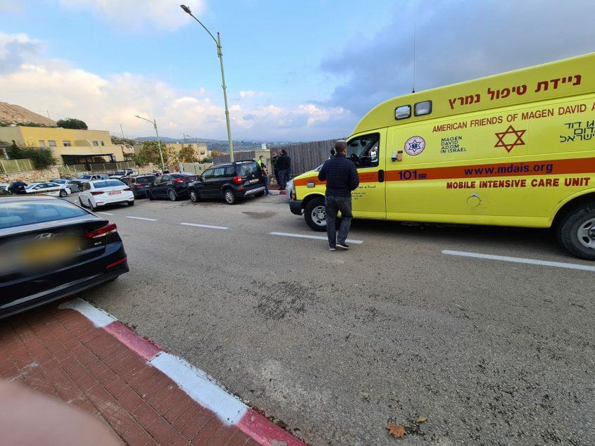"""סמוך לזירת הרצח של דיאנה רז ז""""ל (צילום: דובלה שחור תיעוד מבצעי מד""""א)"""